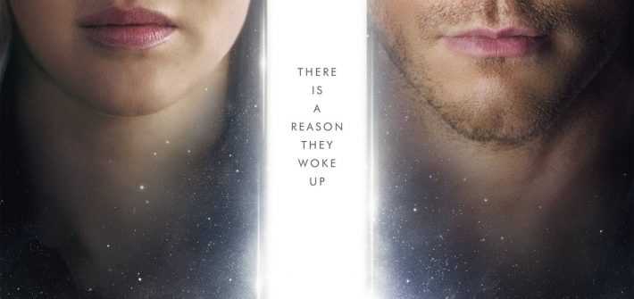 Passengers has a new Poster