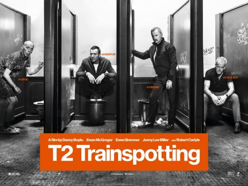 T2 TRAINSPOTTING quad poster