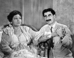 Groucho Marx & Margaret Dumont