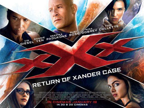 xXx - Return of Xander Cage UK poster