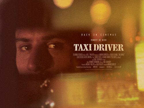Taxi Driver UK quad poster