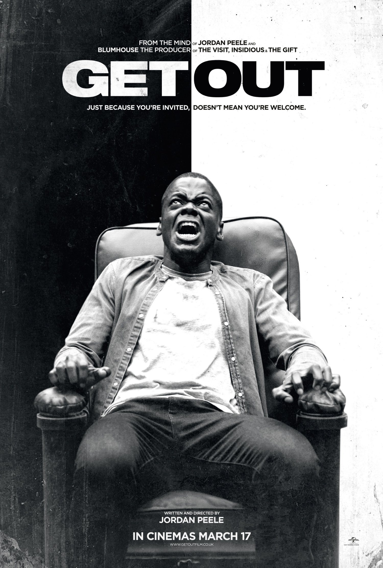 Get Out chair poster