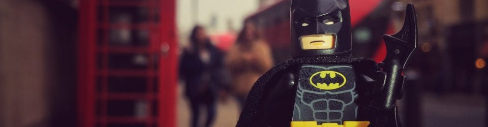 Lego Batman in London