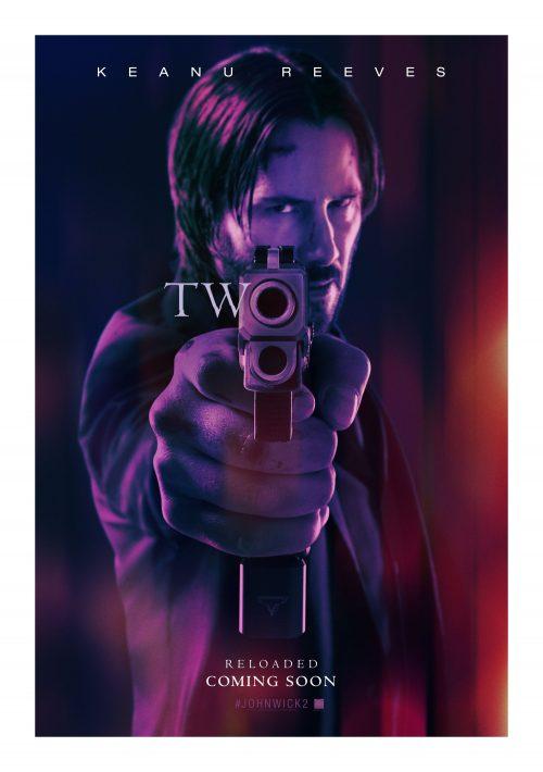 John Wick 2 gun poster