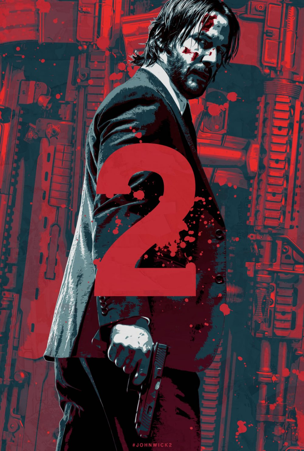 John Wick Chapter Two – Illustrated Poster4