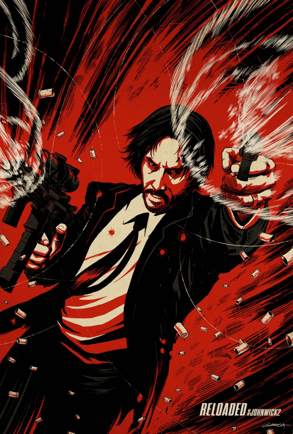 John Wick Chapter Two – Illustrated Poster5