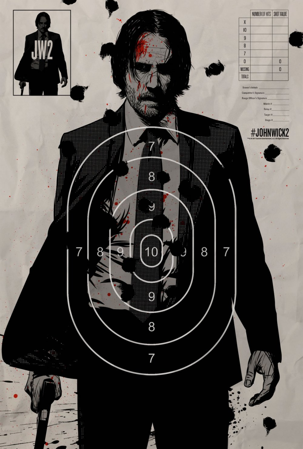 John Wick Chapter Two – Illustrated Poster6
