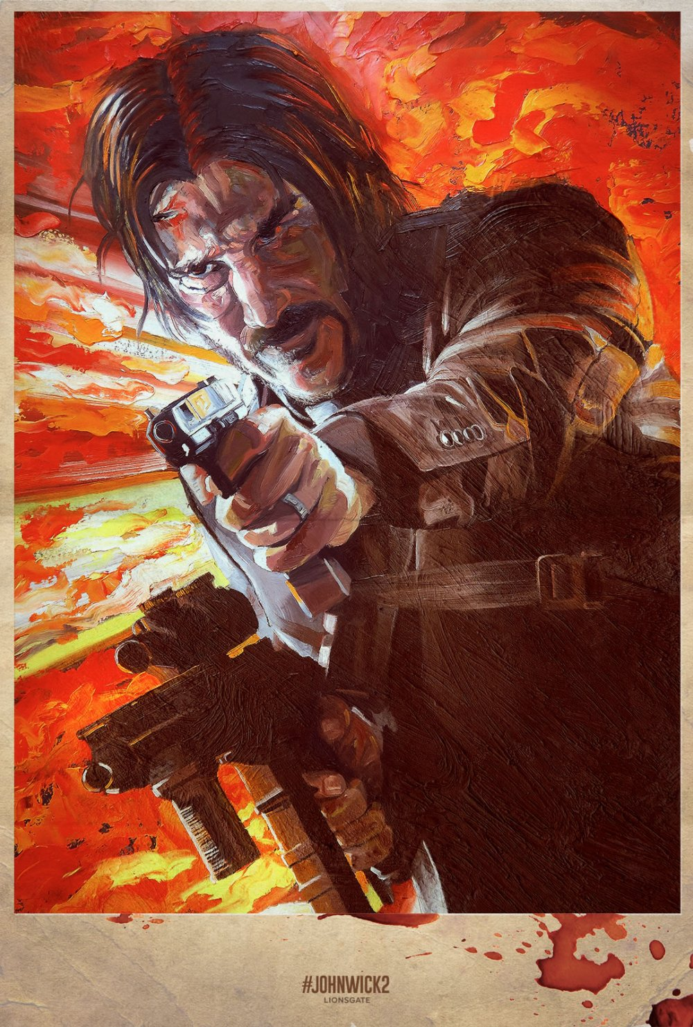 John Wick Chapter Two – Illustrated Poster7
