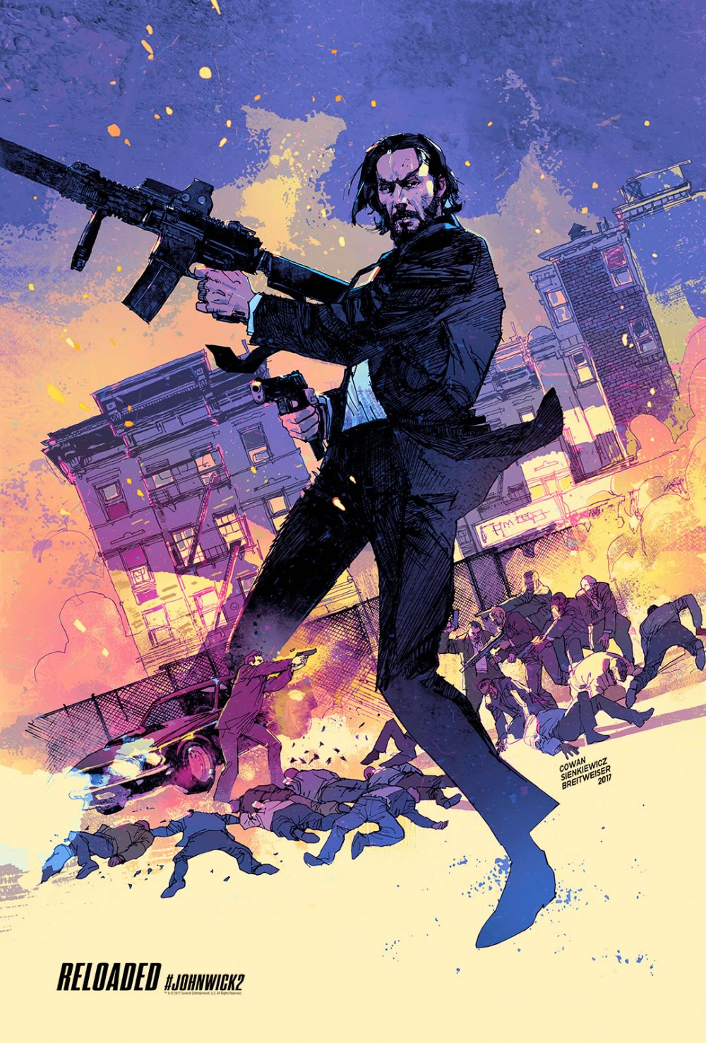 John Wick Chapter Two – Illustrated Poster8