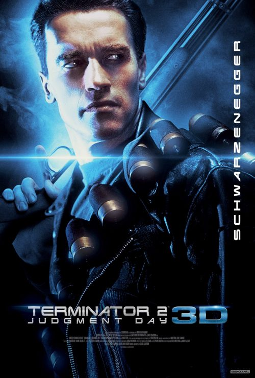 Terminator 2 Judgment Day 3D poster