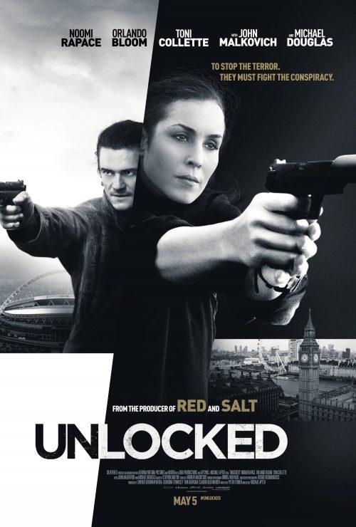Unlocked UK poster