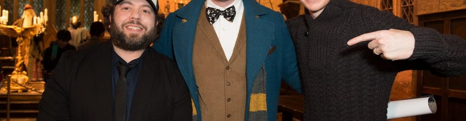 Newt Scamander at the Warner Bros. Studio Tour
