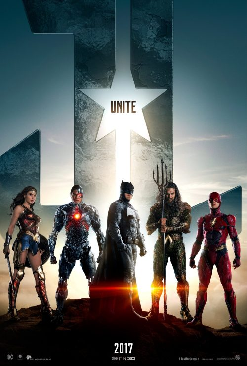 Justice League teaser poster