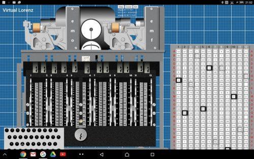 Virtual Lorenz – screenshot