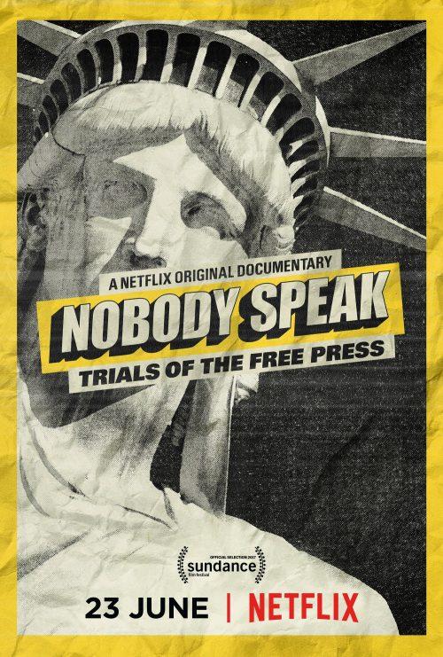 Nobody Speak poster