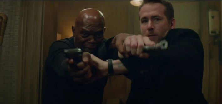 The Hitman's Bodyguard has a trailer