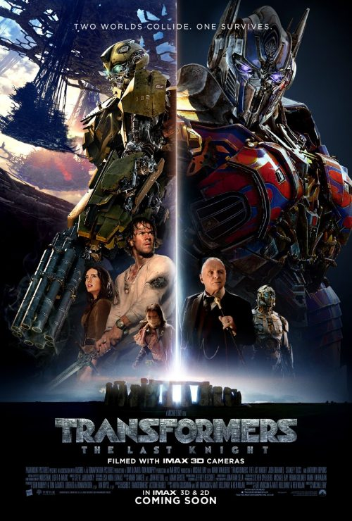 Transformers The Last Knight final poster