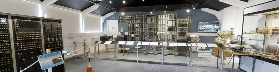 Walk around the large computer gallery at TNMoC