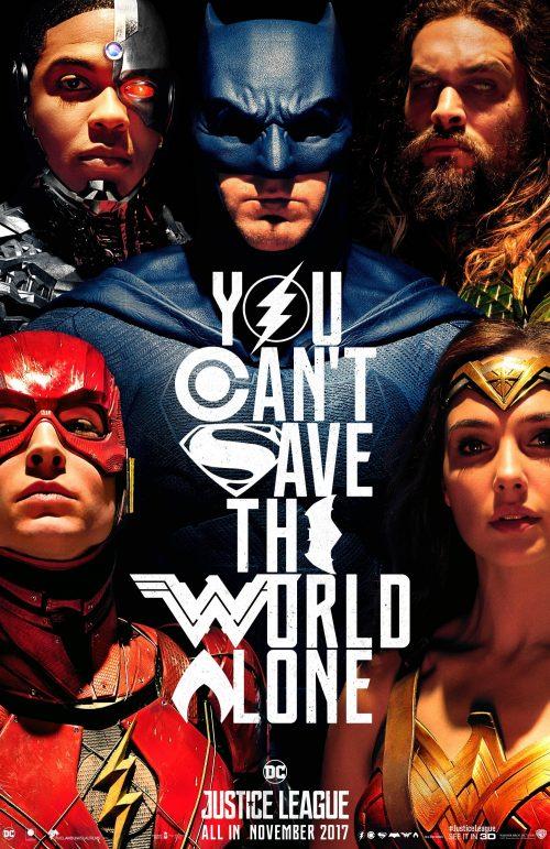 Justice League - Comic Con poster