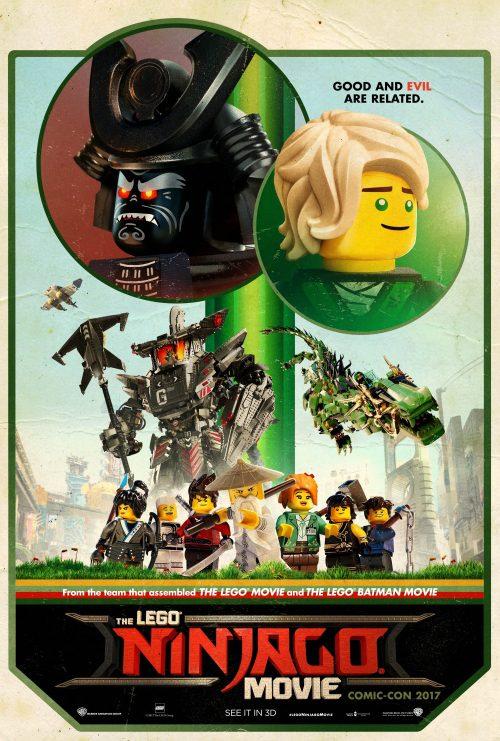 The LEGO Ninjago Movie COMIC CON poster