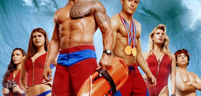 Baywatch is swimming onto DVD