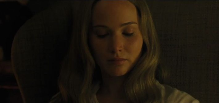 Jennifer Lawrence is terrified in Mother!