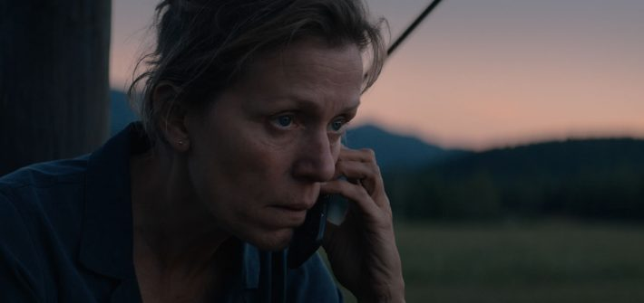 Three Billboards Outside Ebbing, Missouri is coming home