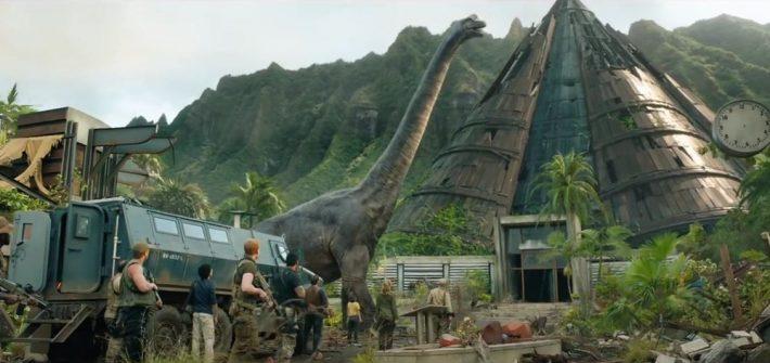 Jurassic World: Fallen Kingdom has a trailer
