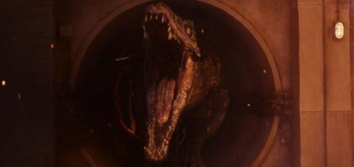 Look behind the Jurassic World
