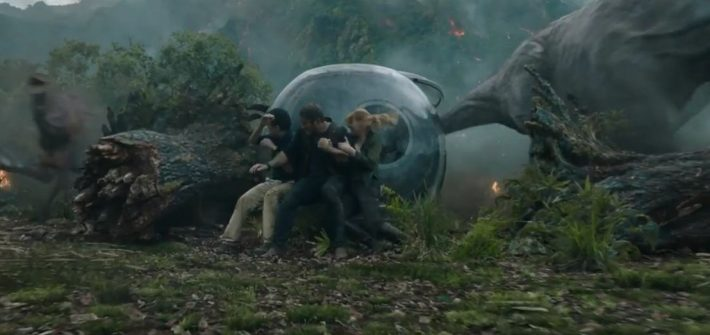 Jurassic World: Fallen Kingdom teaser trailer