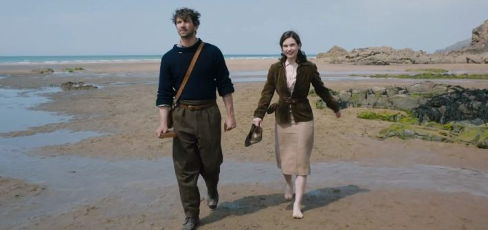 Look behind The Guernsey Literary And Potato Peel Pie Society