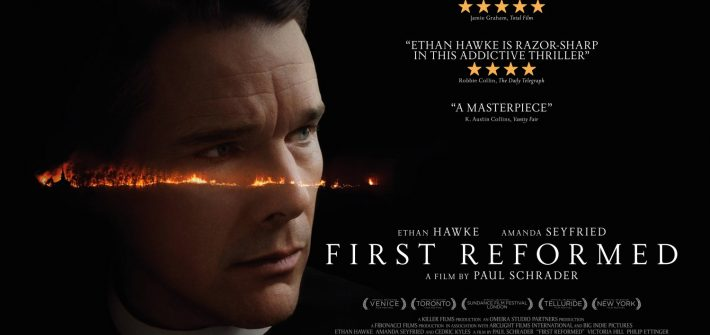 First Reformed Trailer & poster