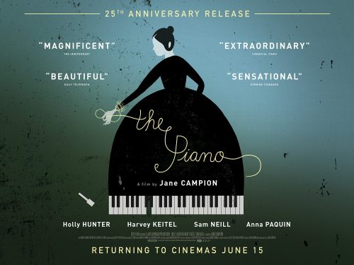 The Piano - 25th anniversary poster
