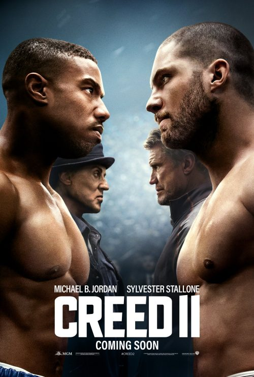 Creed 2 Face Off poster