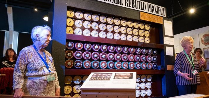 Crowdfunded Bombe gallery opened at TNMOC by two veterans