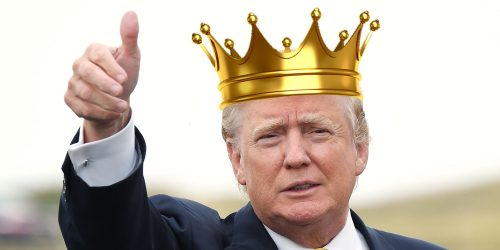 King Trump the first of USA