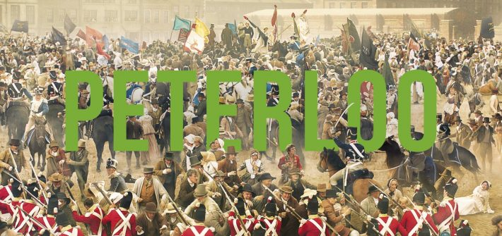 Peterloo has a poster