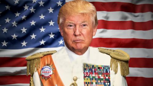 Trump pot dictator