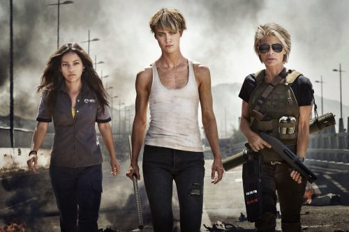 The women of the new Terminator