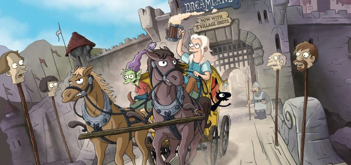 Disenchantment is coming for a second season