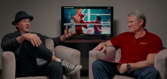 Sylvester & Dolph watch Rocky IV