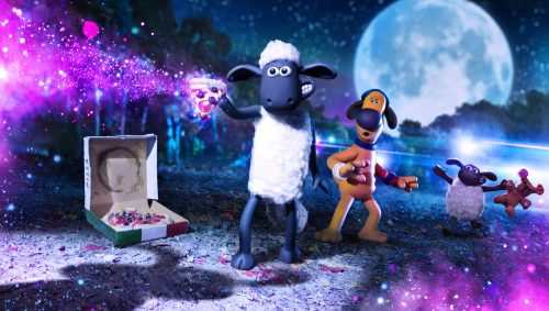 Shaun in space