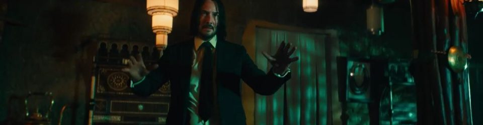 John Wick is back for more