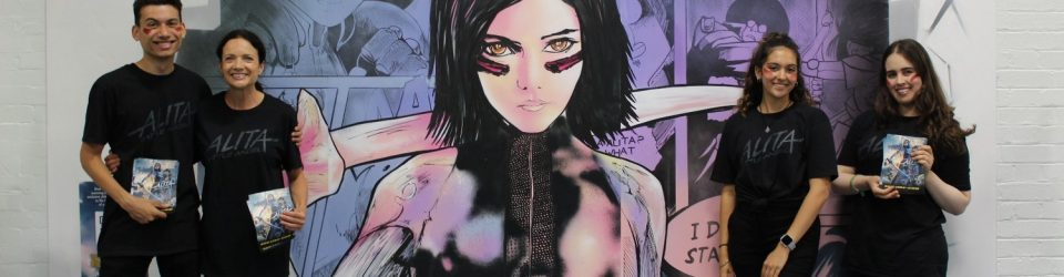 Alita at London Film & Comic Con 2019
