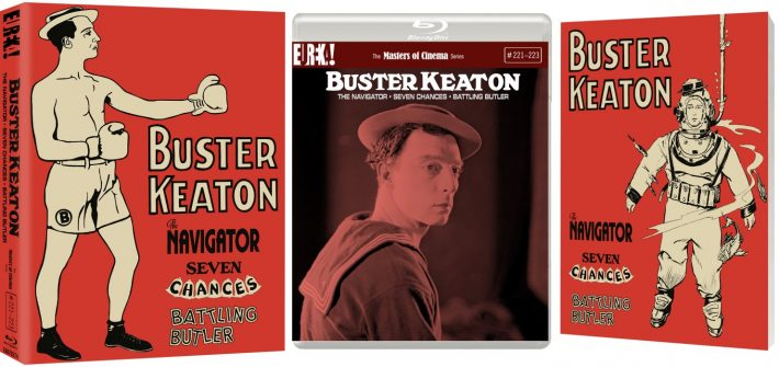 Buster Keaton is on his way home
