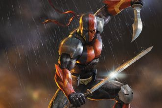 Deathstroke and his family!
