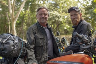 """Ewan McGregor and Charley Boorman's """"Long Way Up"""" driving to Apple TV+"""