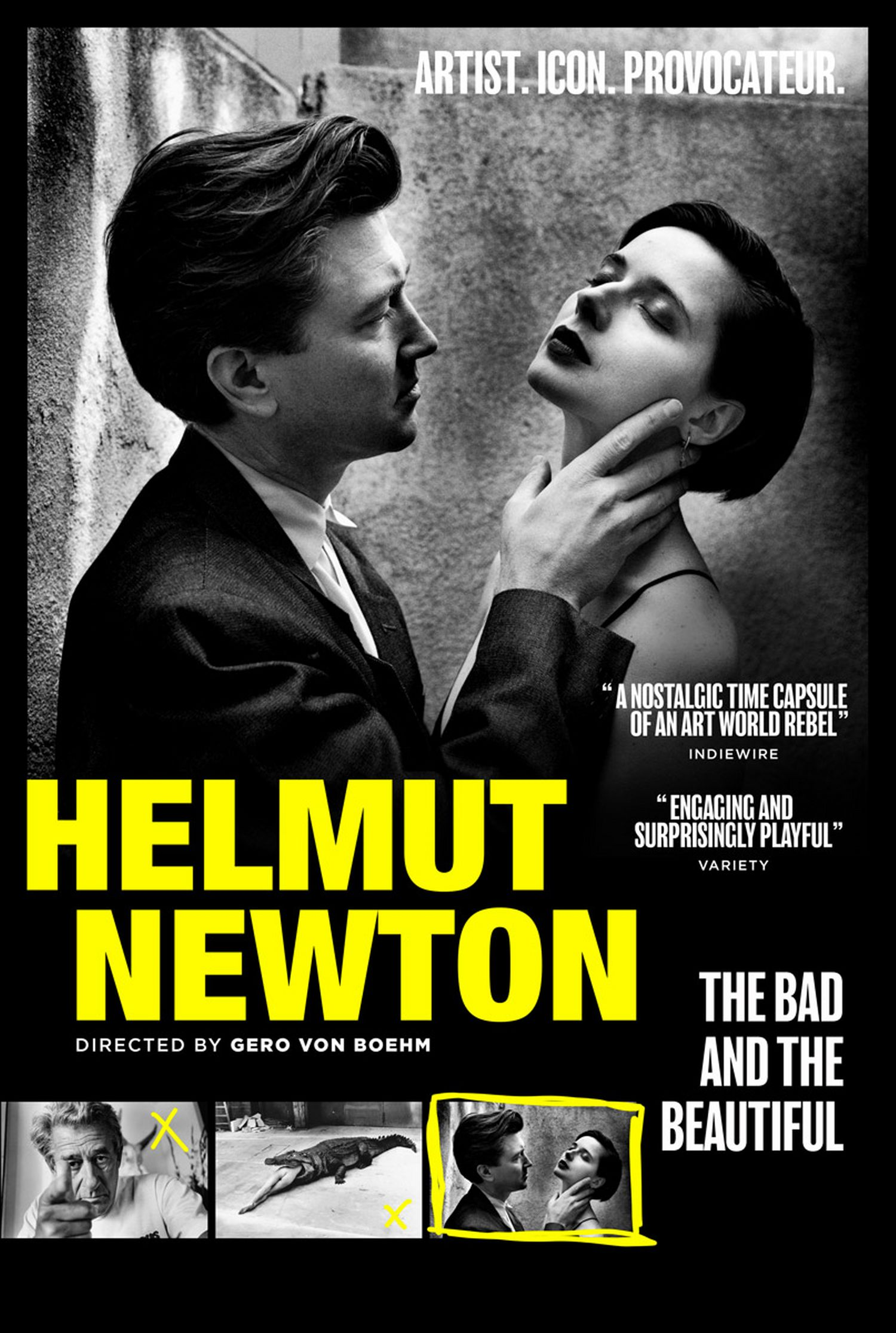 Helmut Newton The Bad and the Beautiful poster