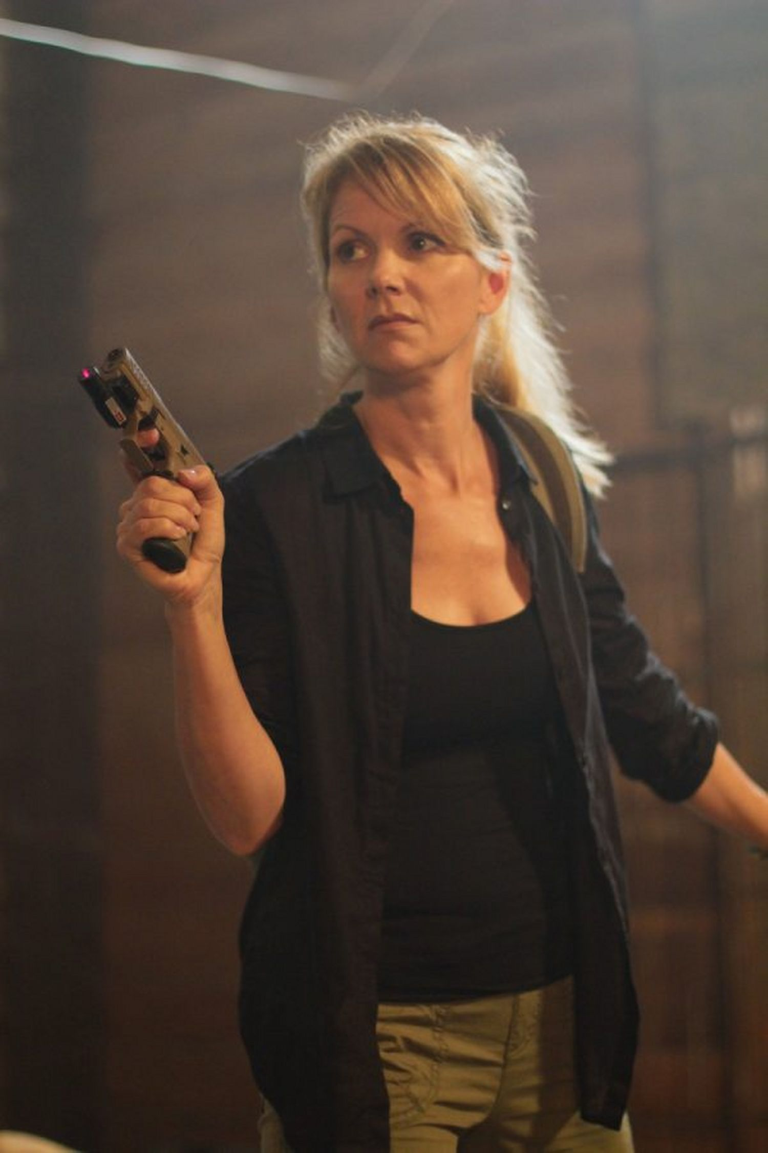 Julie Condra in The Driver (Lionsgate UK)