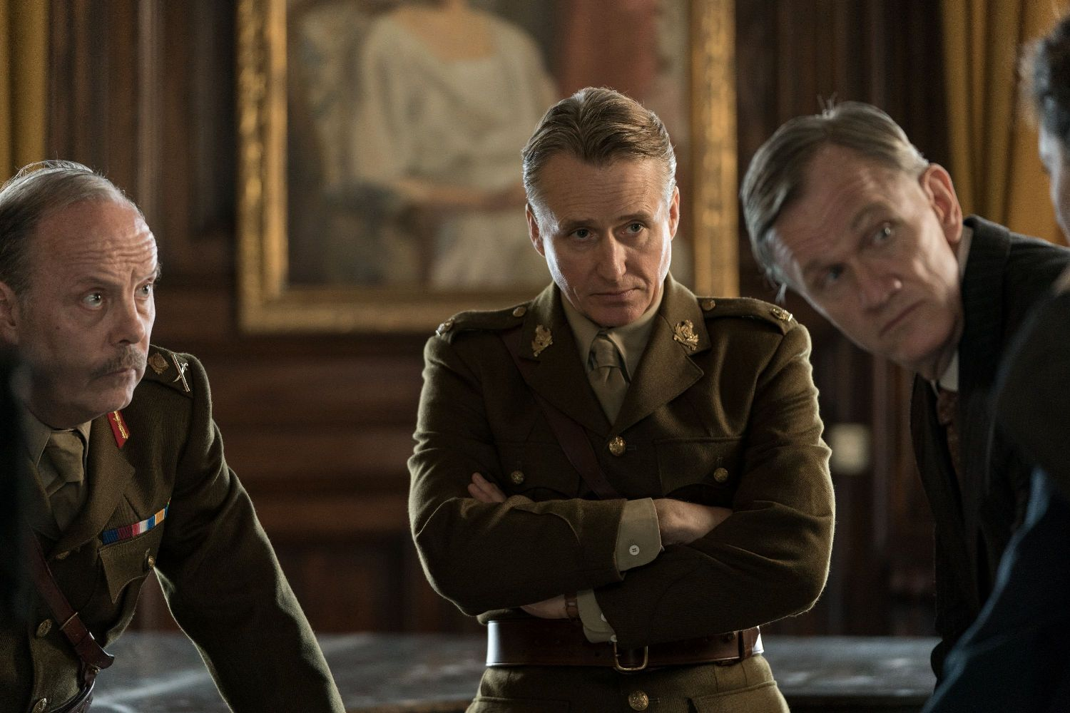 Linus Roache and Matt Salinger in A Call to Spy (23 October 2020) (Signature Entertainment UK)